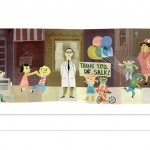 جوجل تحتفل بالذكرى الـ100 لميلاد سولك مكتشف لقاح شلل الاطفال