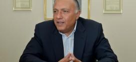 وزير الخارجية المصري يلتقي مع طرفي النزاع في سوريا