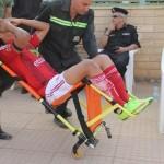 اصابة عمرو جمال بقطع فى الرباط الصليبى تتسبب بصدمة في الأهلي