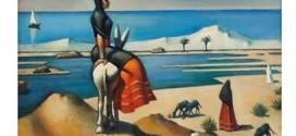 لوحة للفنان محمود سعيد في دبي تقدر بـ 600 ألف دولار