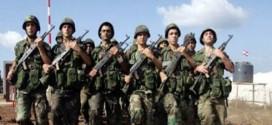 اصابة سبعة أفراد من الجيش اللبناني بالمواجهات مع الإرهابيين