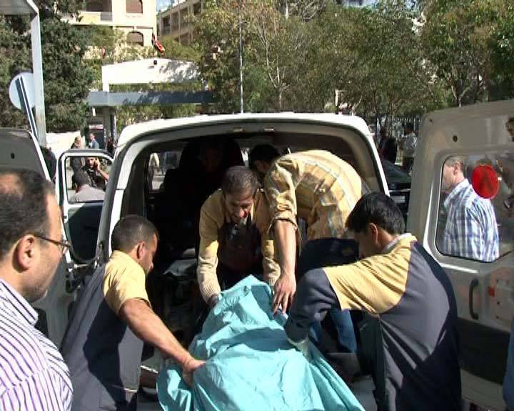 العصابات الارهابية المسلحة في حلب تستهدف تجمع للمدارس بالقذائف الصاروخية